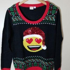 EMOJI Ugly xmas sweater
